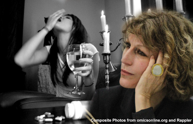 Filipino mother shares true story of drug addicted daughter to Callamard