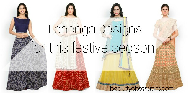 Choose Latest Lehenga Designs For This Festive Season..