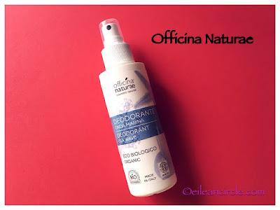 Desodorante natural Cosmética natural Officina Naturae