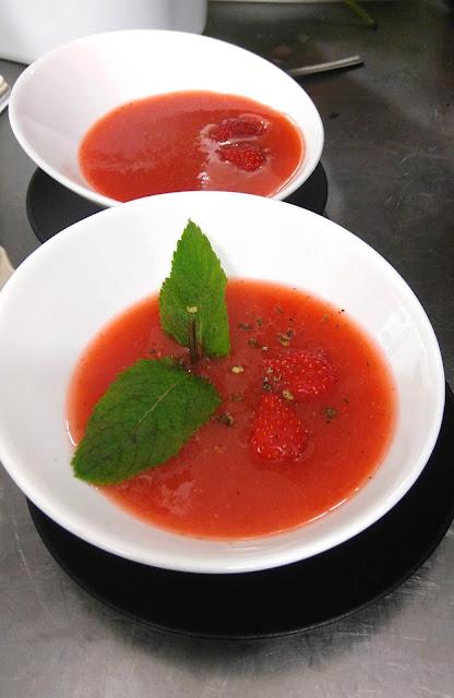 my resto, restaurant, collaboration, nantes, soupe de fraises, bullelodie