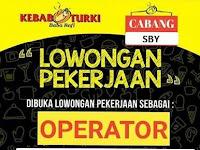 lowongan kerja operator kebab turki surabaya