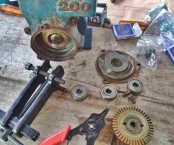 cara+ganti+bearing+pompa+air