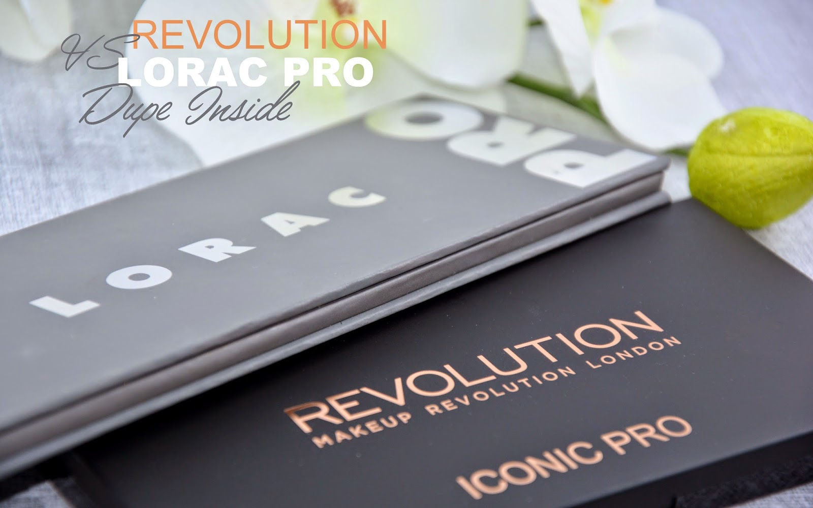 Lorac Pro 2 vs Iconic 2 de Makeup Révolution : dupe inside