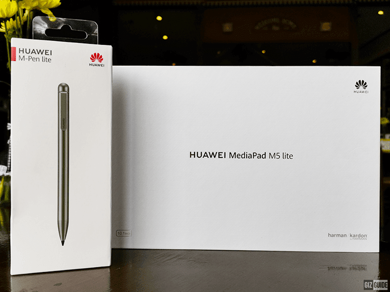 Huawei MediaPad M5 lite Unboxing and First Impressions