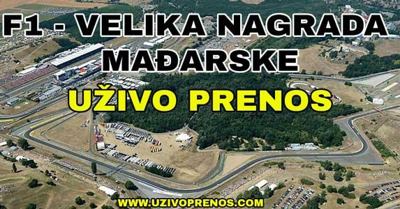 Velika nagrada Mađarske uživo prenos