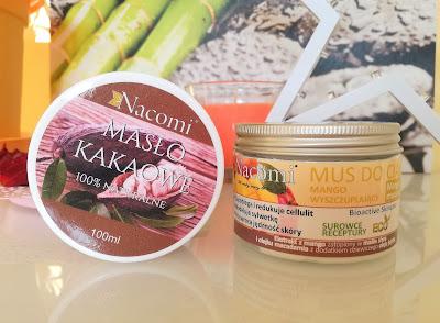 Nacomi: Naturalne masło kakaowe oraz wyszczuplający mus do ciała