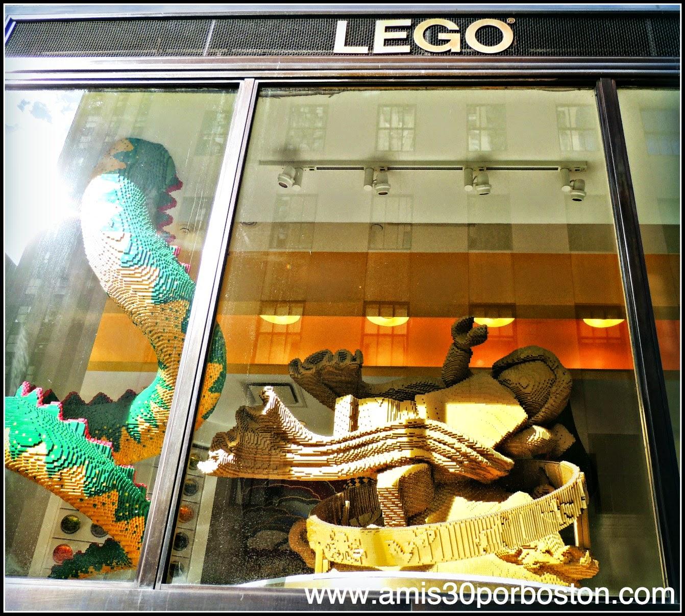Segunda Vista a Nueva York: Tienda Lego del Rockefeller Center
