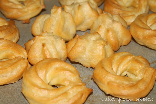 Cómo hacer pasta choux. Julia y sus recetas