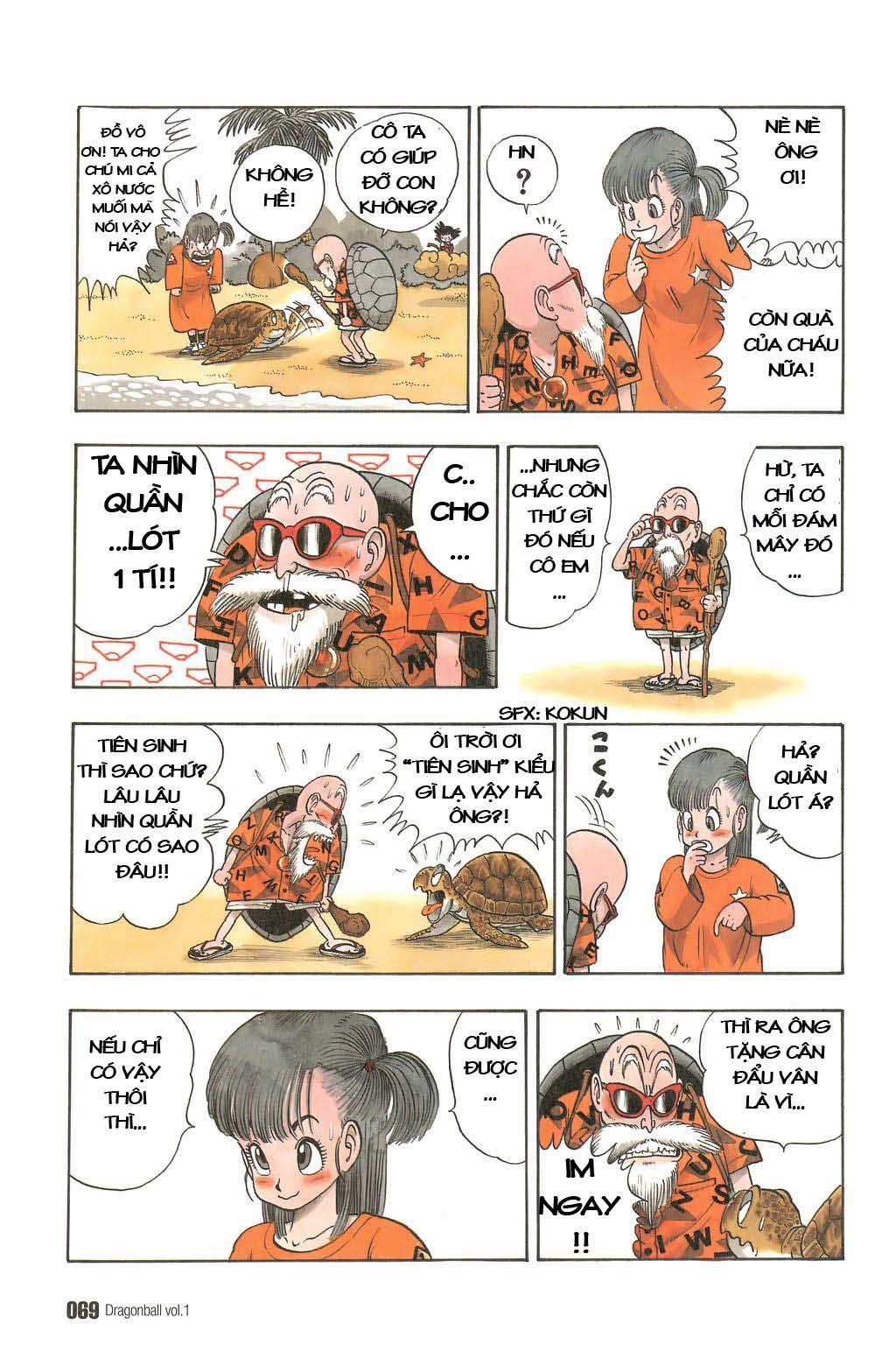 Dragon Ball chap 4 trang 7