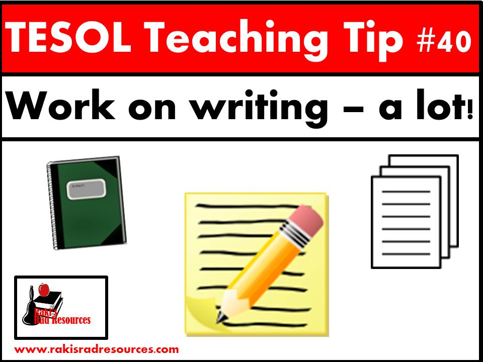 teaching esl students to write essays