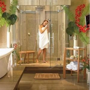 Home Improvements: Teak shower seat