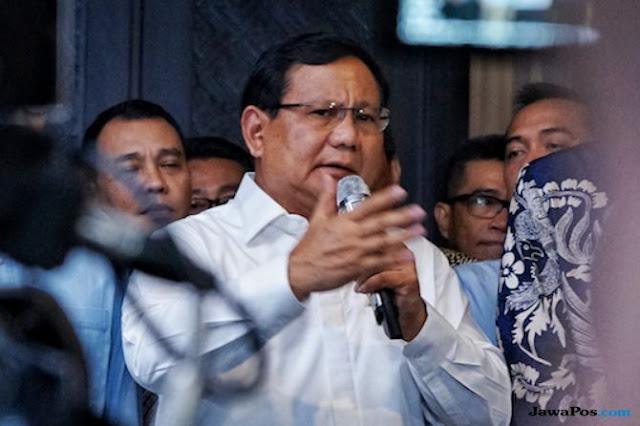 Prabowo: Kita Harus Yakin Tuhan Ada di Posisi yang Benar