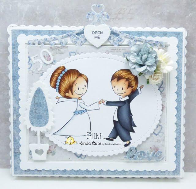 Wedding digital stamp