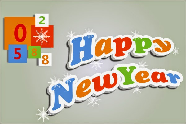 Happy New Year 2019 3D Text Images for Black Berry