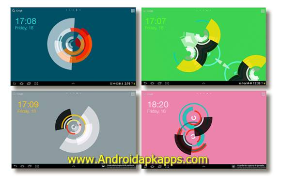 Circulux LWP Apk PRO v2.5.1 Android Latest Version Gratis 2016 Free Download