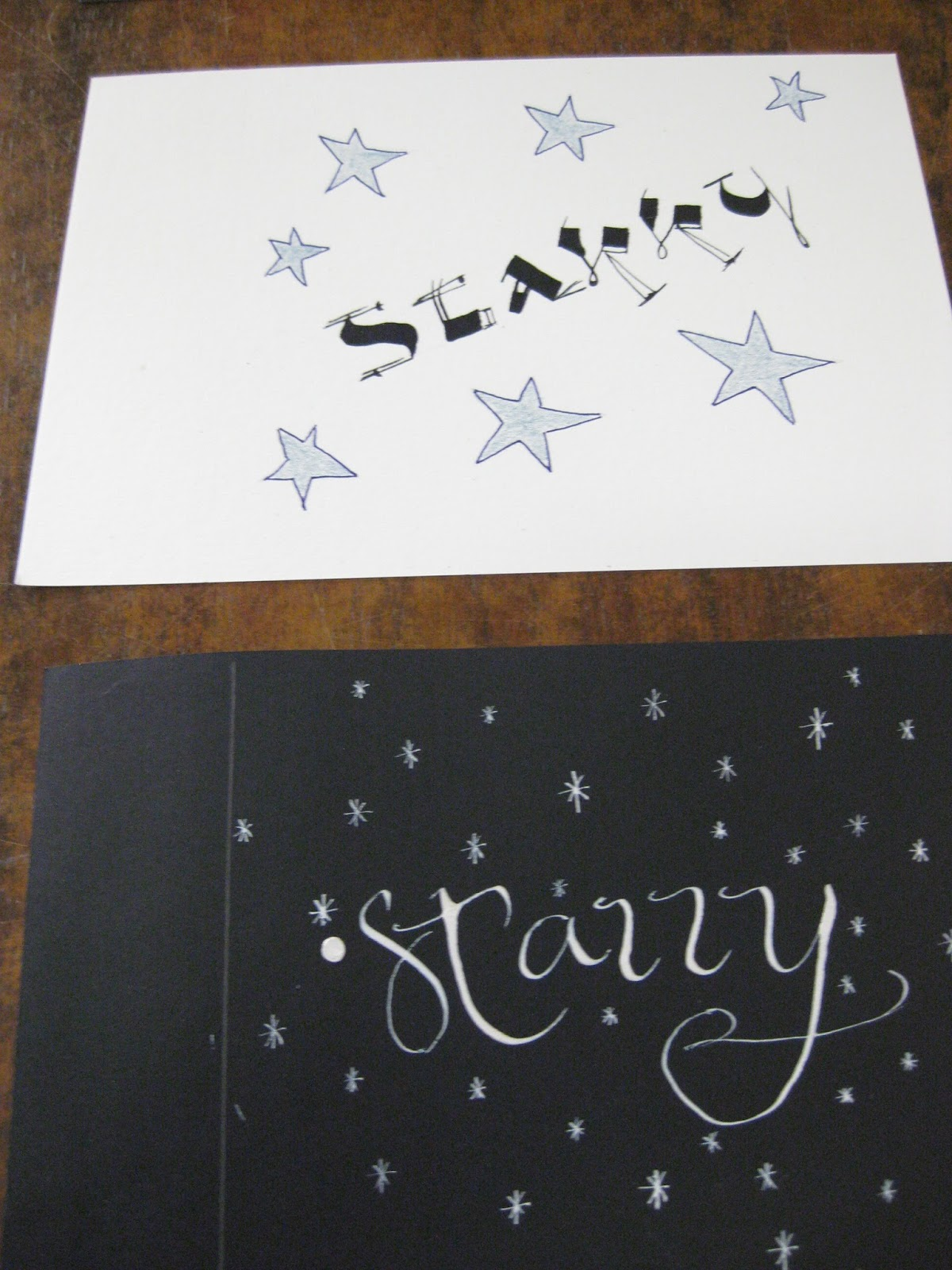 Calligraphy Southscribes Inc Starry The Word A Month