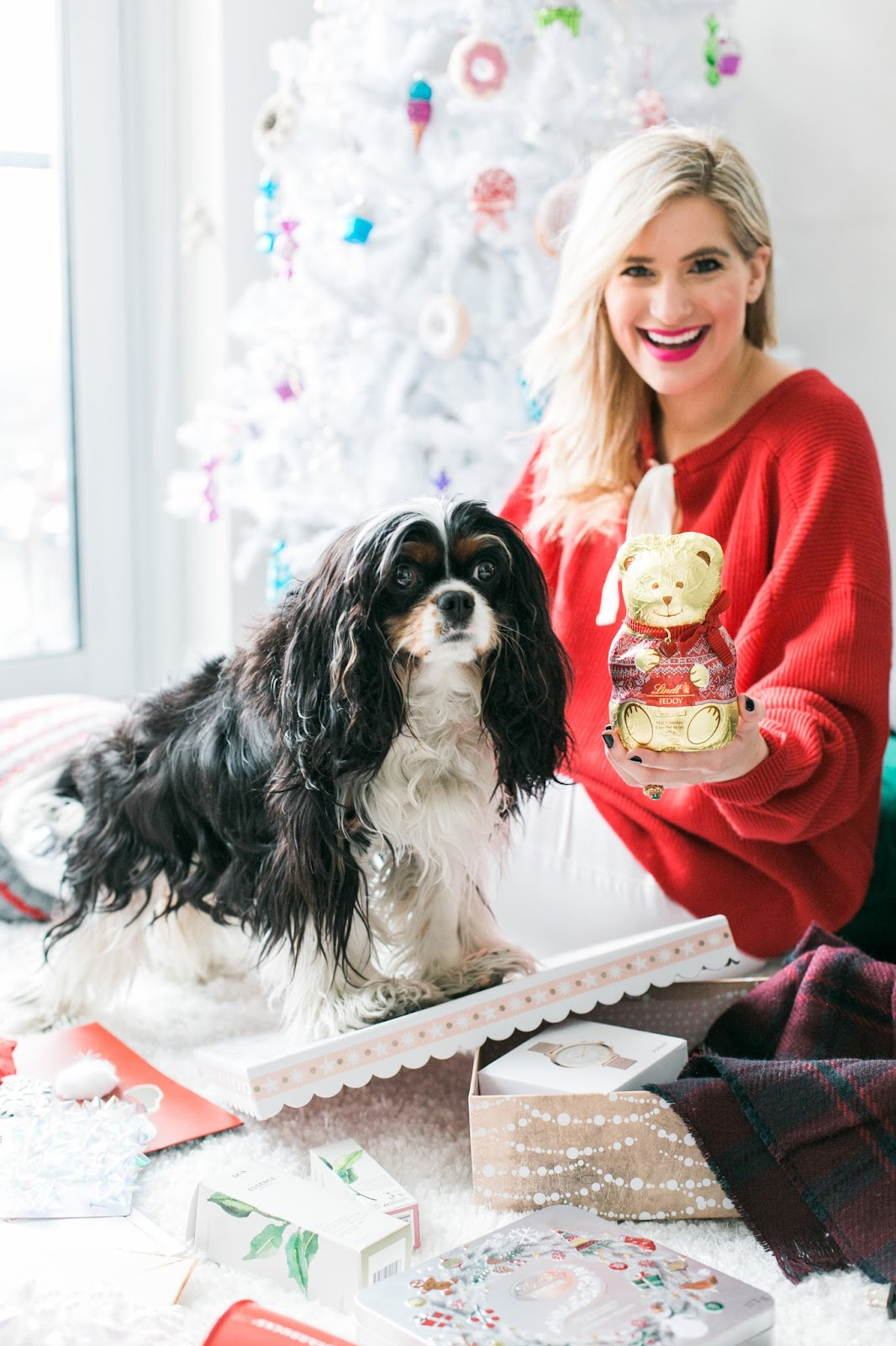 Bijuleni - Holiday Gift Guide For Her With Holt Renfrew Centre - Cavalier King Charles Spaniel puppy