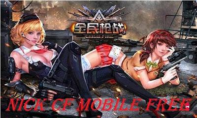Nick Cf Mobile Miễn Phí