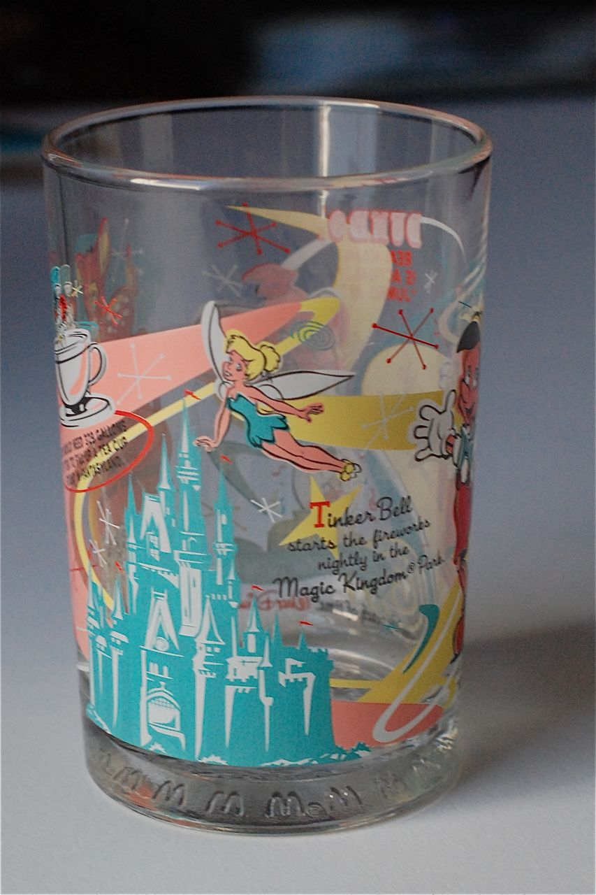 7a84cf78dc Disney Musings  McDonalds 100 Years of Magic Disney Glass Set