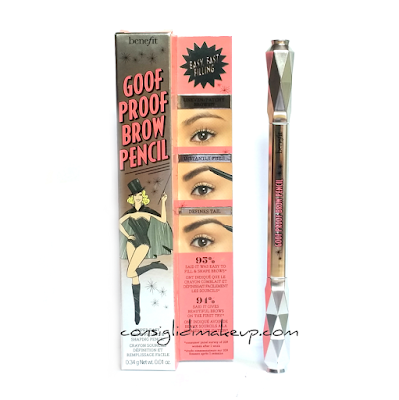 Review: Goof Proof Brow Pencil - Benefit Cosmetics