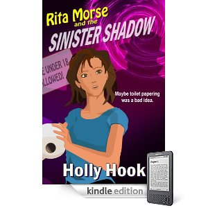 "KND Kindle Free Book Alert, Friday, May 6: 4 More Brand New Freebies! plus ... <span style=""font-size: small;"">Fourteen year-old Rita Morse is the kind of girl that the teen-hating  Shadow Regime can't stand, in</span> Holly Hook's <i><b>Rita Morse and the Sinister Shadow</b></i> (Today's Sponsor)"