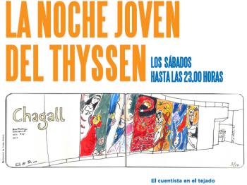 El Cuentista en el Tejado.  Espectáculo de cuentos populares de la tradición judía en el Museo Thyssen