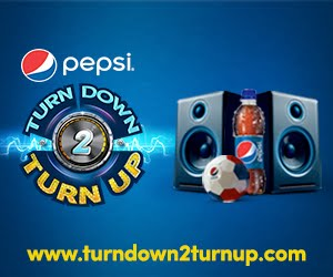 Pepsi TURN DOWN & TURN UP!!