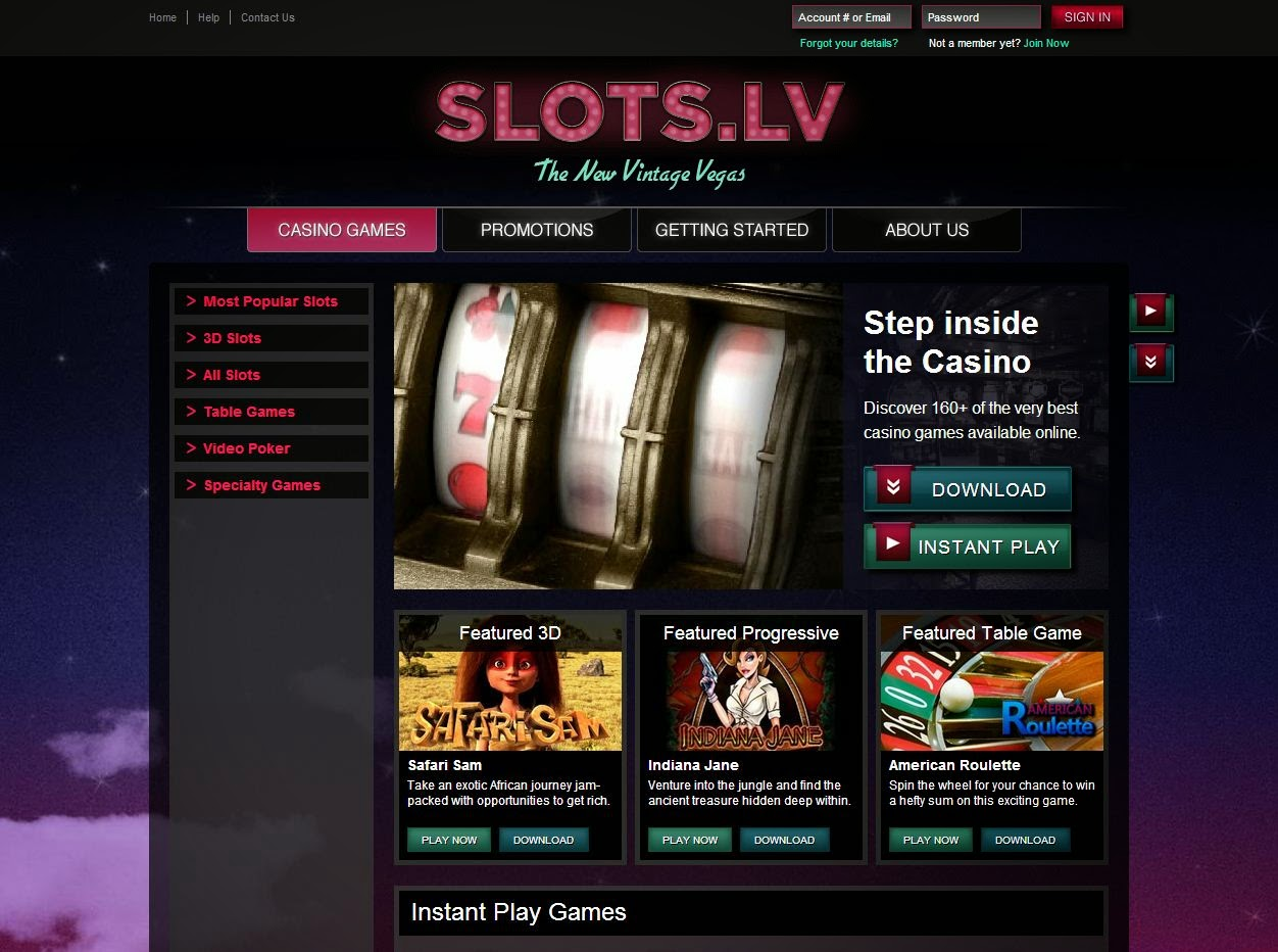 generous welcome bonus for slots on slots.lv