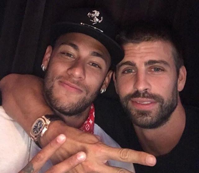 Piqué dice que Neymar se queda en el FC Barcelona