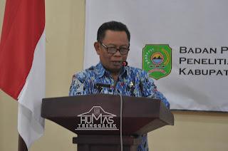 Sekda Ali Mustofa Buka Seminar Pembangunan Infrastruktur Tangguh Bencana