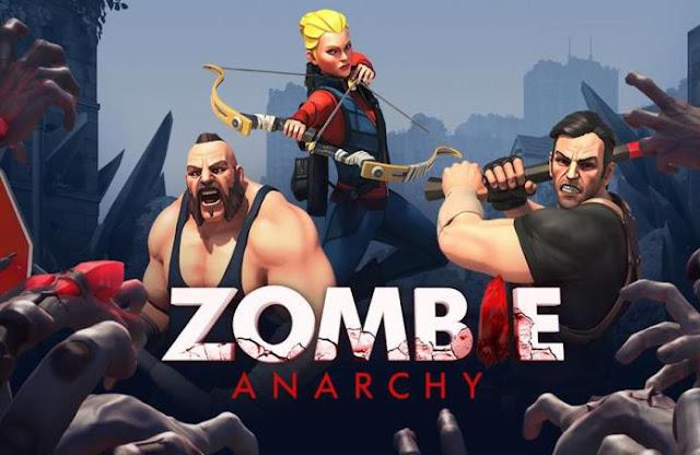 Zombie Anarchy v1.0.10a APK Data Obb Full