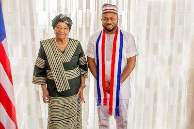 Dr. Olakunle Churchill Honors The Invitation Of President Ellen Johnson Sirleaf In Liberia