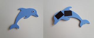 delfin z pianki
