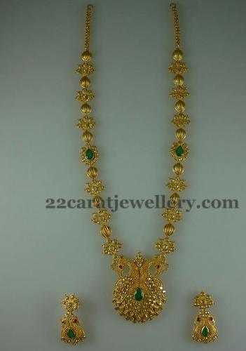 Durga S Fancy Long Chain Jewellery Designs