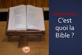 DIAPORAMA C'EST QUOI LA BIBLE