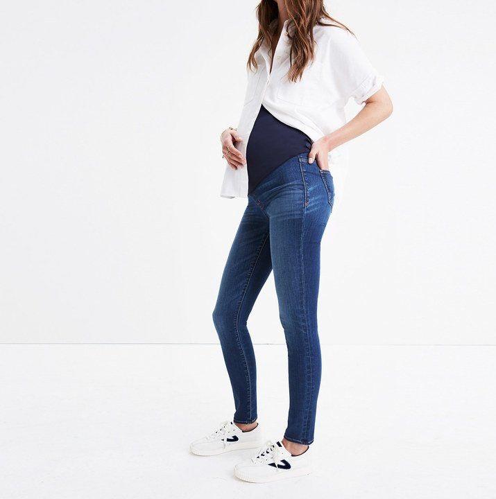 Ultra Tendencias Los Nuevos Pantalones Vaqueros Premama De Madewell Son Comodos Y Elegantes