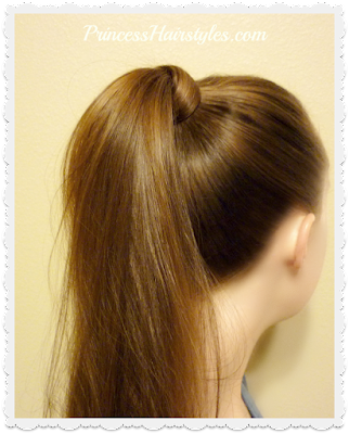 How to wrap hair around a ponytail, fool proof easy method.