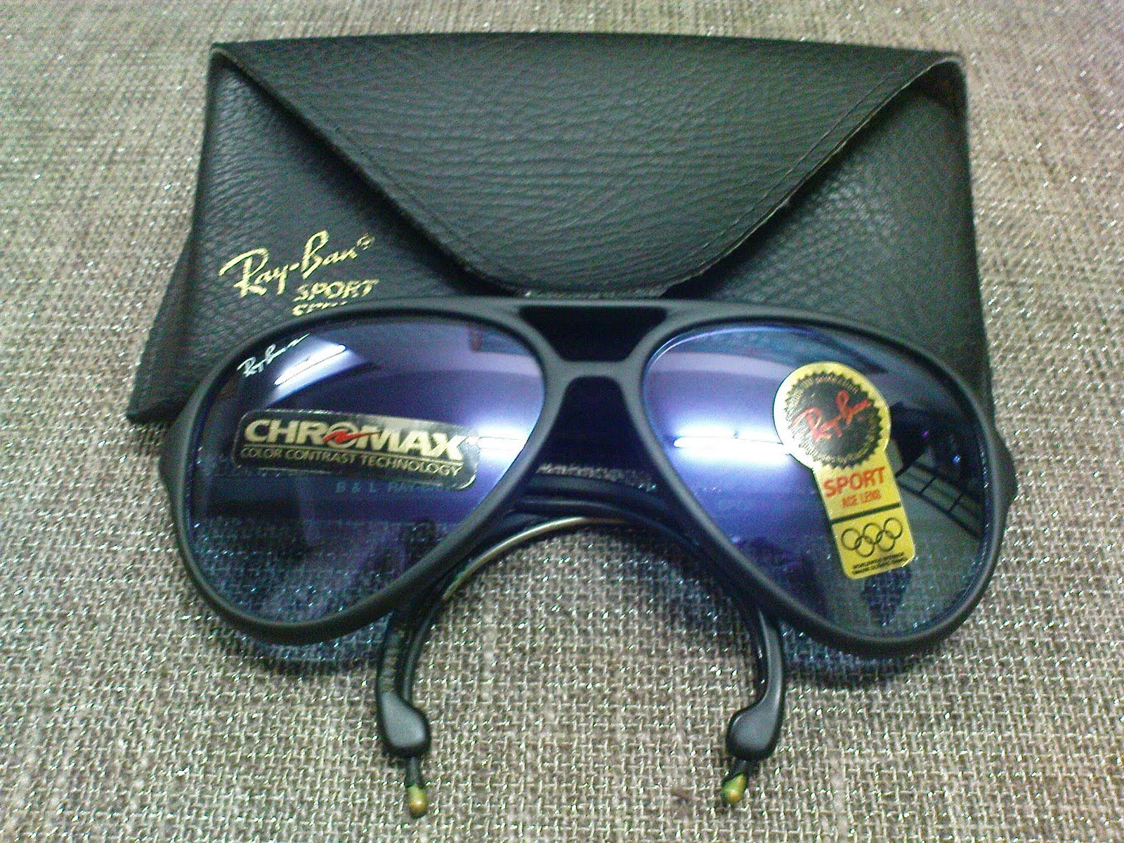 839f59a6e34 Vintage Bausch   Lomb Rayban Sunglasses  (SOLD)NOS Ray Ban Sport Series 4