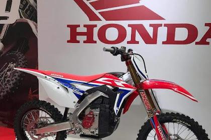 WOW ! CR-E Motor OffRoad Listrik Honda