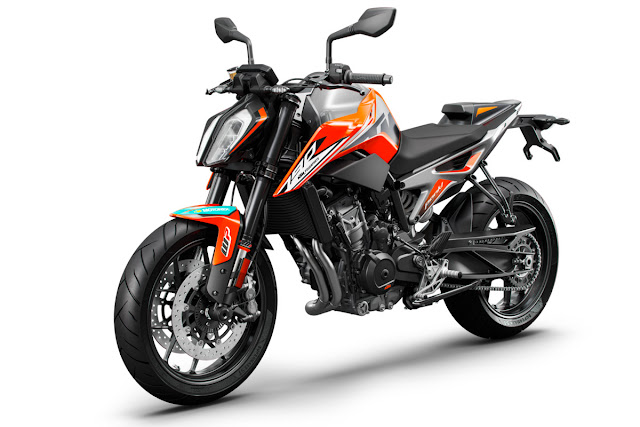 New 2019 KTM 790 Duke Muscular Look