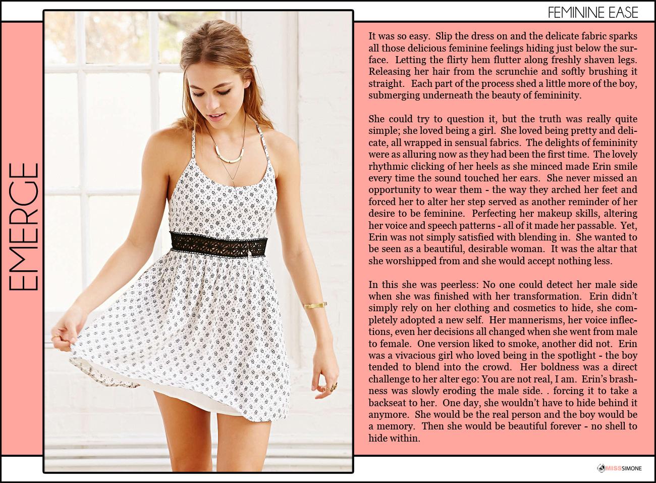 The Modern Goddess TG Caption Blog: Secret Beauty   A
