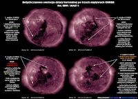 Opracowanie - dotychczasowa ewolucja dziury koronalnej i krótkie podsumowanie jej wpływu przy kolejnych emisjach strumienia wiatru słonecznego podwyższonej prędkości (CHHSS) - na podst. SDO i zdjęć z kanału AIA211