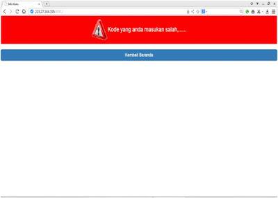 contoh tampilan login cek SKTP