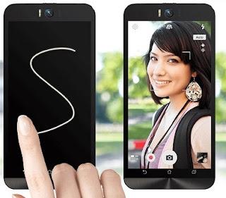 Android Kamera Depan Ada LED Flash Asus Zenfone Selfie
