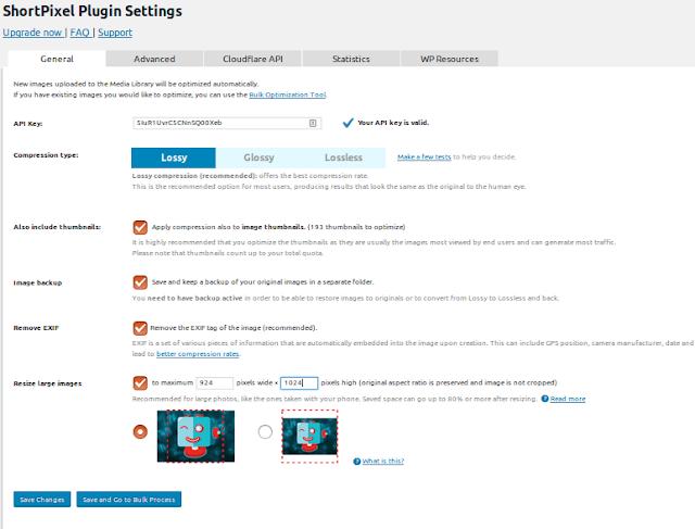 Cara Optimasi Gambar Menggunakan Plugin ShortPixel