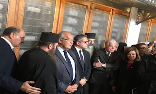 Minister of Antiquities inaugurates the first phase of the library of St. Catherine Monastery