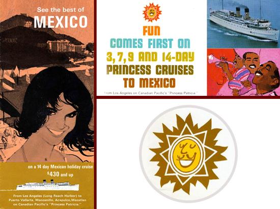 Princess Cruises brochures 1965/1966