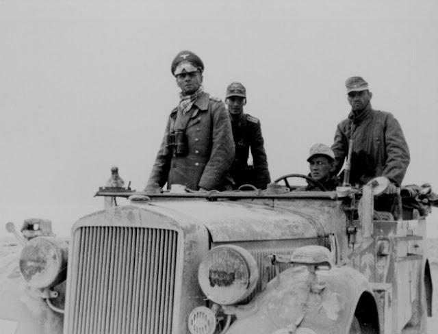 12 February 1941 worldwartwo.filminspector.com Rommel Tripoli North Africa