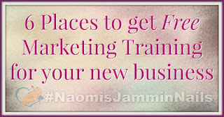 6 Places to get Free Marketing Training for your new business 1