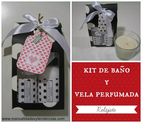 Idea regalo Kit de baño para regalar